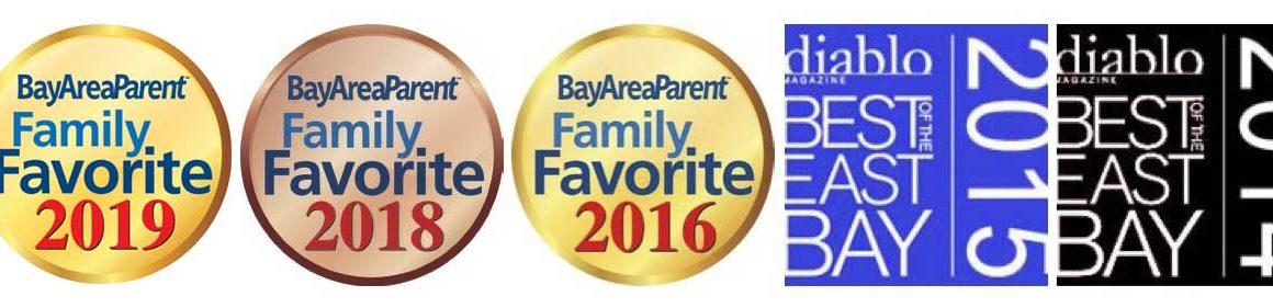 Diablo Gymnastics Family Favorite Awards
